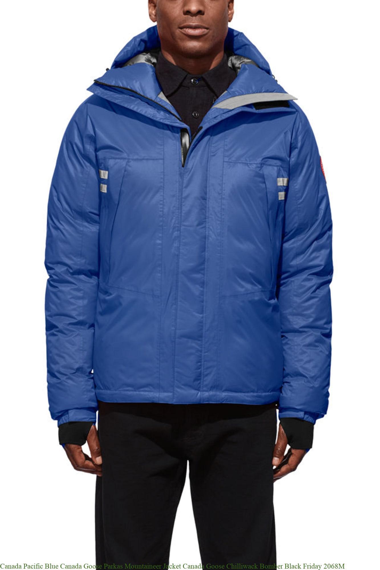 Canada Pacific Blue Canada Goose Parkas Mountaineer Jacket ...