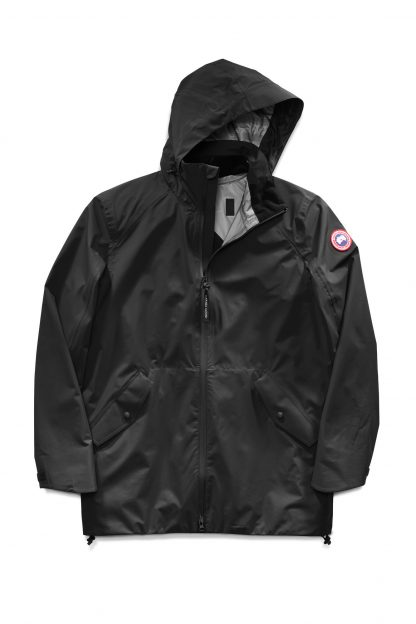 Perfect Quality Black/Black Canada Goose Raincoats Riverhead Jacket Canada  Goose Outlet New York City 5604MZ – Black Friday Canada Goose Outlet &  Cheap Canada Goose Jackets