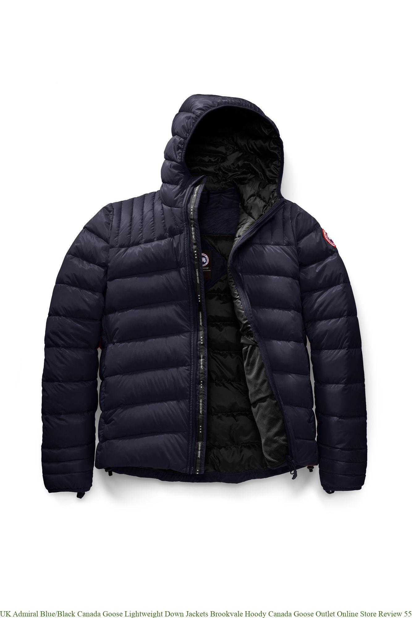 special for shoe discount shop cheap for discount UK Admiral Blue/Black Canada Goose Lightweight Down Jackets ...