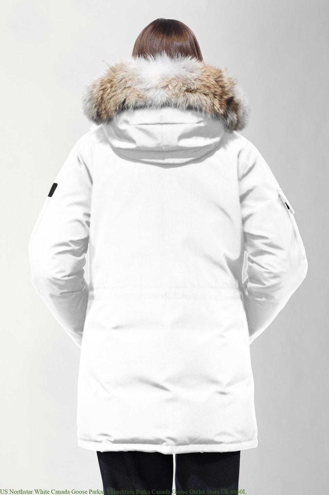 US Northstar White Canada Goose Parkas Expedition Parka ...